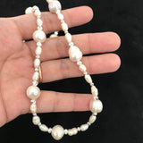The Covet Pearl Necklace/Anklet SHW