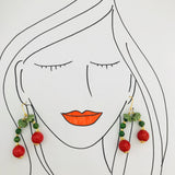 Cheerful Cherries Earrings GHW
