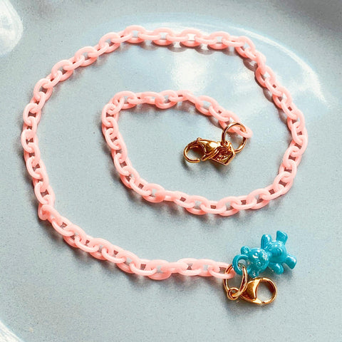 PINK Child Mask Necklace