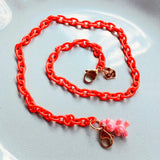 RED Child Mask Necklace