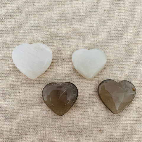 Moonstone Heart Cabochon