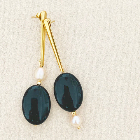 Piano Piano Earrings GHW