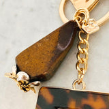 Tigereye Bag Charm/ Key Ring