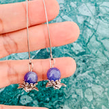 Le Petite Tanzanite Earrings SHW