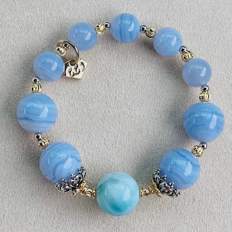 Larimar Angel Blue Bracelet