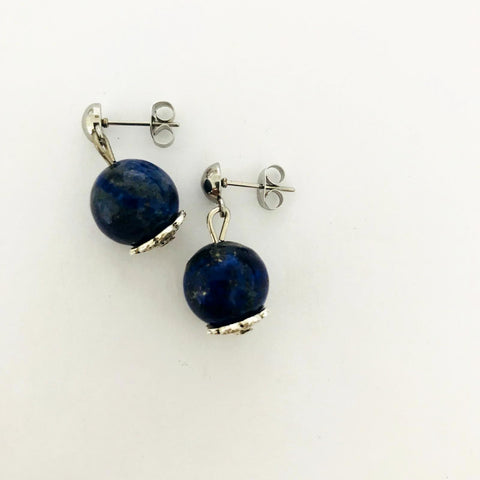 Lapis Lazuli Earrings SHW