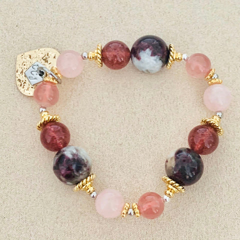 Strawberry Quartz & Pinks