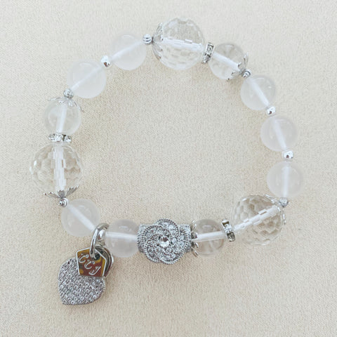 To Be Tranquil with heart charm