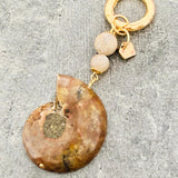 Happiness & Luck Ammonite Charm