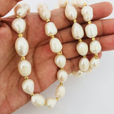 Covet Long Pearl Necklace