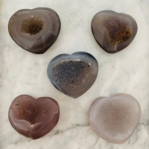 Agate Hearts