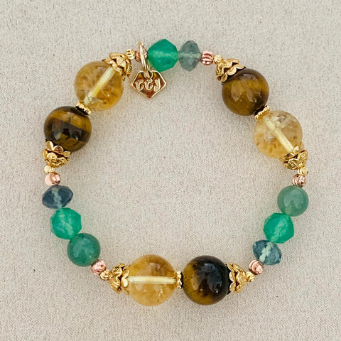 Optimism, Confidence & Wealth Bracelet
