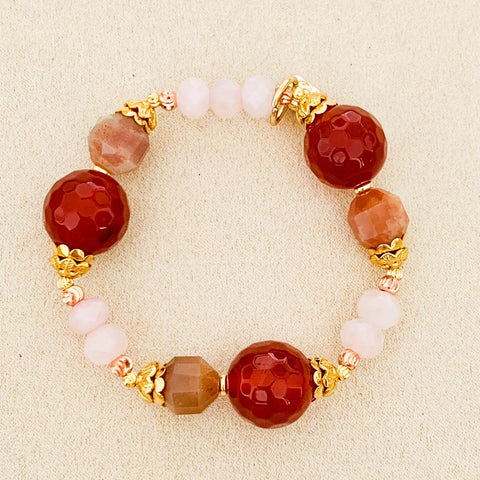 Happiness, Passion & Love Bracelet