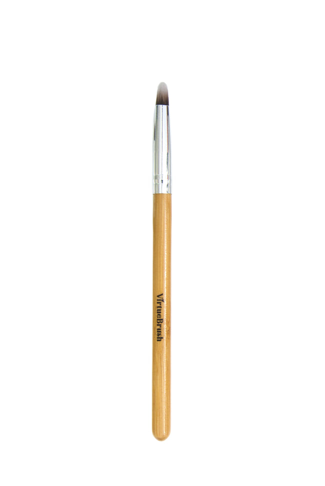 MAKEUP Lip & Concealer Brush with Bamboo Handle
