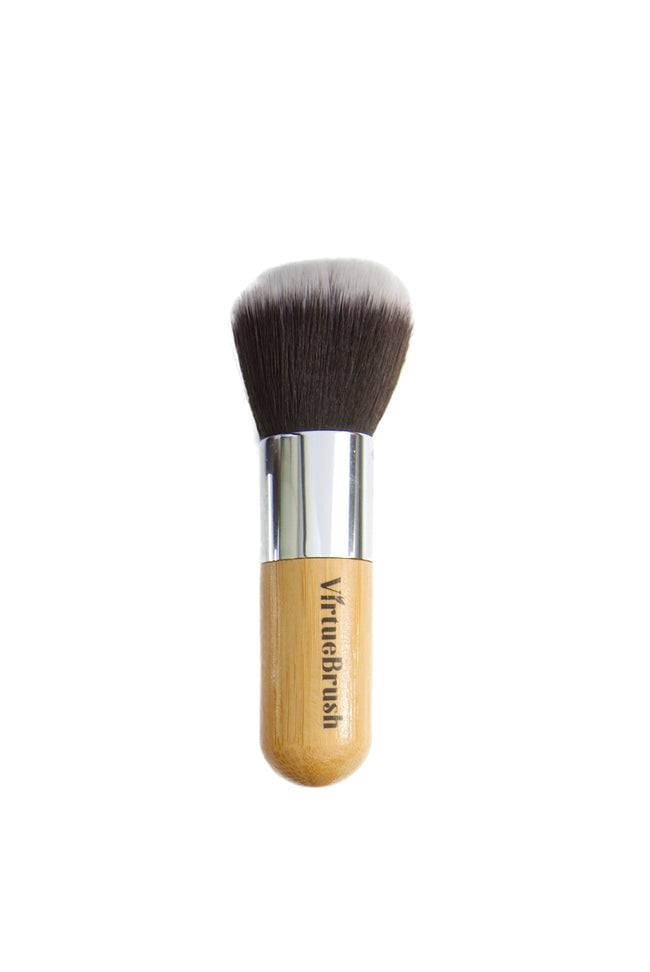 MAKEUP Blush Brush with Bamboo Handle - VirtueBrush