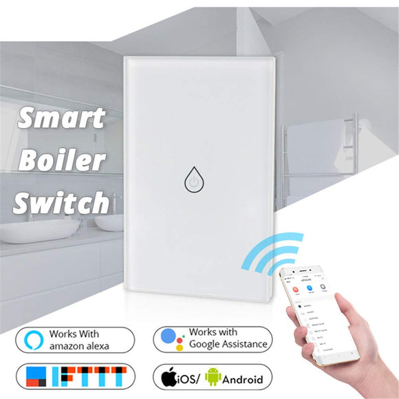 SH100 WiFi Water Heater Switch (Works with Home & Alexa) - digitalhome philippines