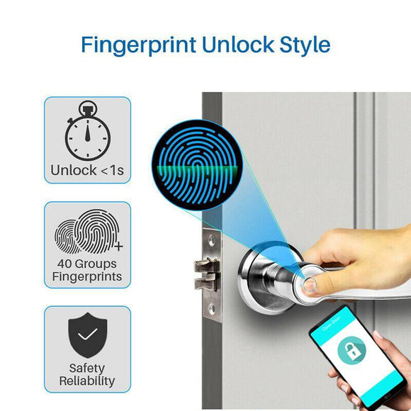 MT203B Fingerprint with Pincode and Smartphone access lock - digitalhome.ph