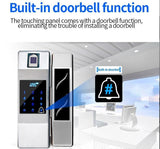 GL100 Fingerprint with Smartphone Access Glass door lock - digitalhome philippines