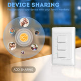 SW500 WiFi Mechanical Switch (Works with Alexa and Home) - digitalhome.ph