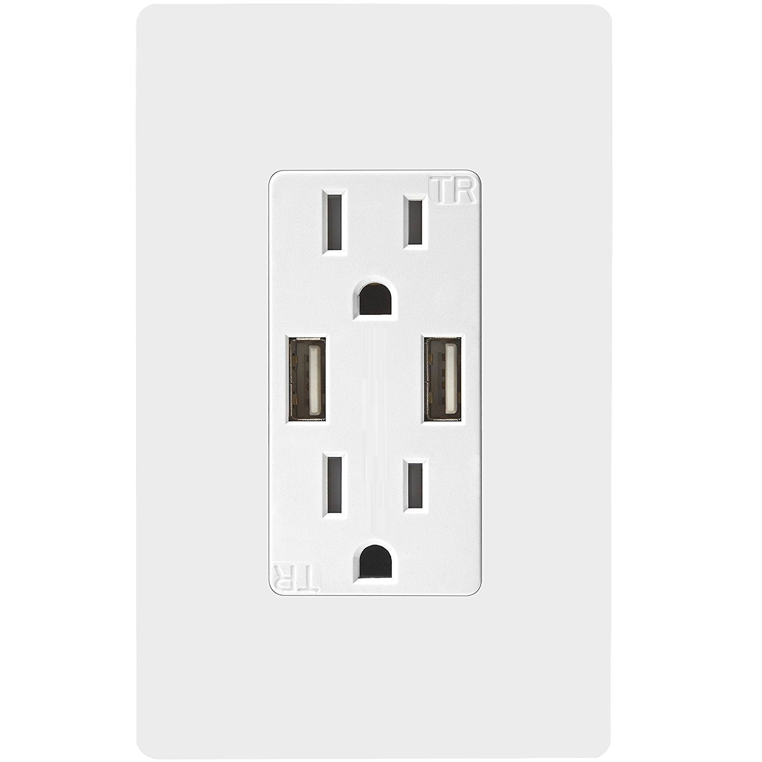Digitalhome Design: SK100 Wall Socket With Fast Charging USB Digitalhome .ph
