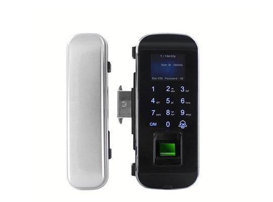 DH301 Sliding Glass Door lock with Fingerprint - digitalhome philippines