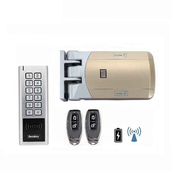 Gate Smart Lock for outdoor (remote and keypad) - digitalhome philippines