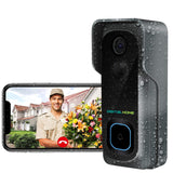 DB400 Wireless Waterproof Smart Video Doorbell (Works with Alexa & Google Assistant) - digitalhome.ph