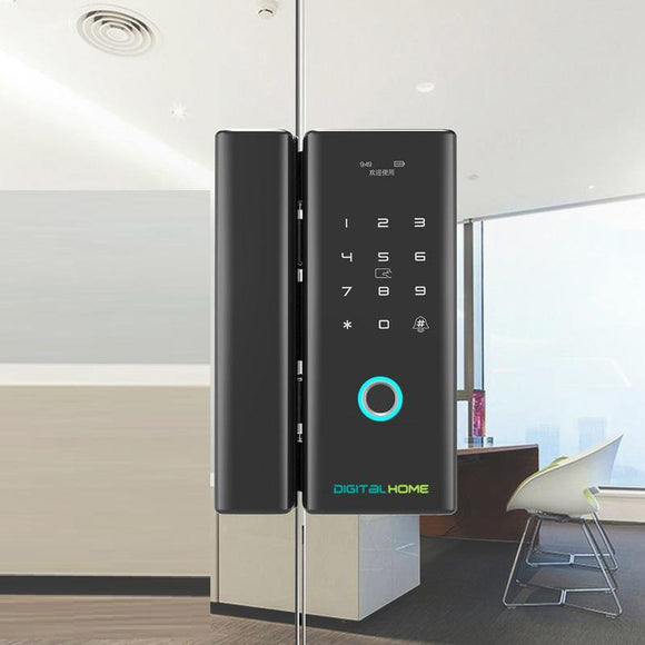 GL150 Smart Glass Door Lock with Fingerprint and Smartphone Access - digitalhome.ph