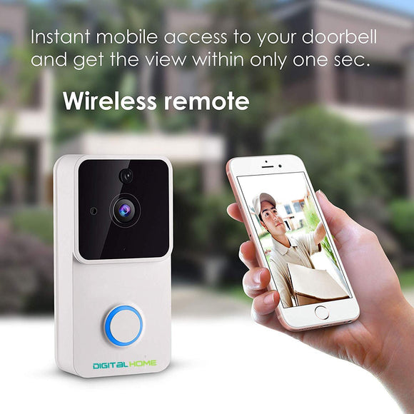 DB200 Smart WiFi Video Doorbell - digitalhome.ph