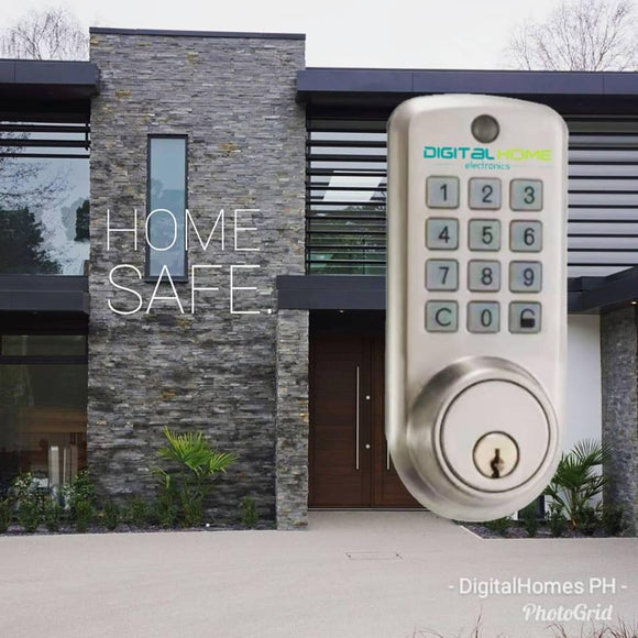 DH100 Smart Door Lock - Keypad - digitalhome philippines