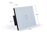 TH200 Glass Touch Switch with Remote - digitalhome philippines
