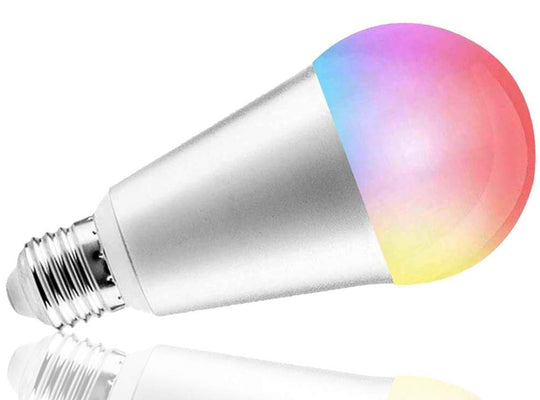 WiFi Smart LED Colored Bulb (works with Home & Alexa) - digitalhome philippines