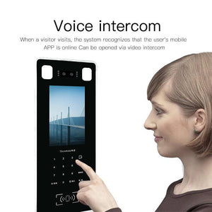 INT100 Wireless Intercom System with Face Recognition - digitalhome philippines