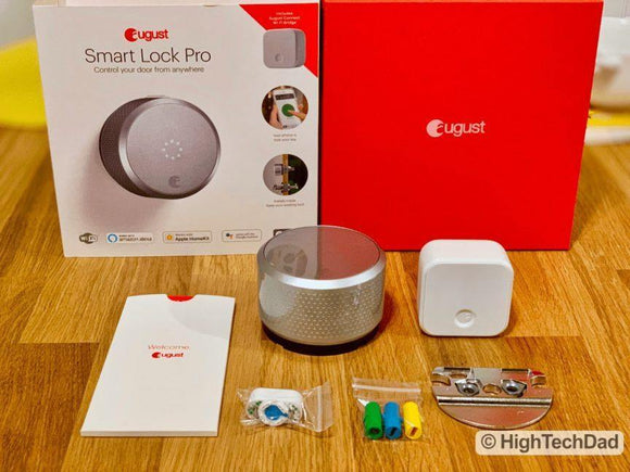 August Smart Lock Pro with Connect bundle (3rd generation works with Alexa and Home) - digitalhome.ph