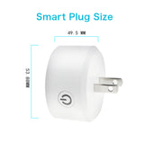 SP110 WiFi Mini-Smart Plug (Works with Home & Alexa) - digitalhome philippines