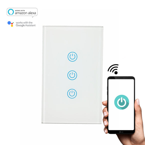 SW300 WiFi Light Switch - No Neutral Wire ( Alexa and Home enabled) - digitalhome.ph