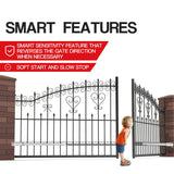 SGS150 Smart Automatic Double Swing Gate opener (Mobile application and Remote) - digitalhome philippines