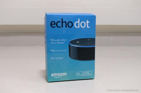 ECHD200-B Amazon Echo Dot - 2nd Generation (Philippines compatible version) - digitalhome.ph