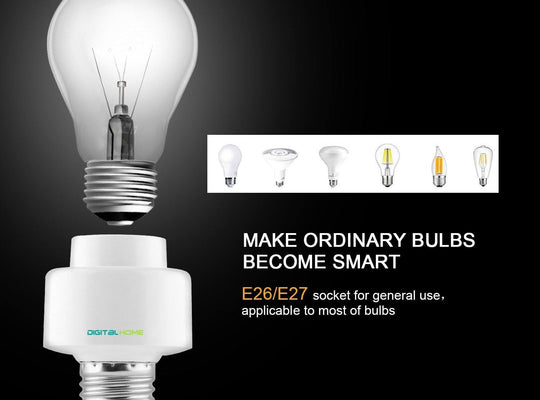 DigitalHome Smart Bulb Holder (works with Home & Alexa) - digitalhome philippines