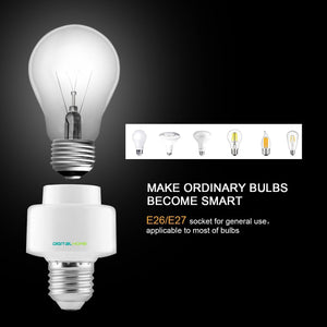 BH100 Smart Bulb Holder (works with Home & Alexa) - digitalhome philippines