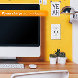 SK100 Wall Socket with Fast Charging USB - digitalhome philippines