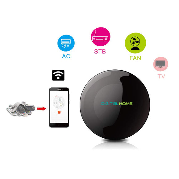 RM100 Universal WiFi Remote Control (Works with Home & Alexa) - digitalhome.ph