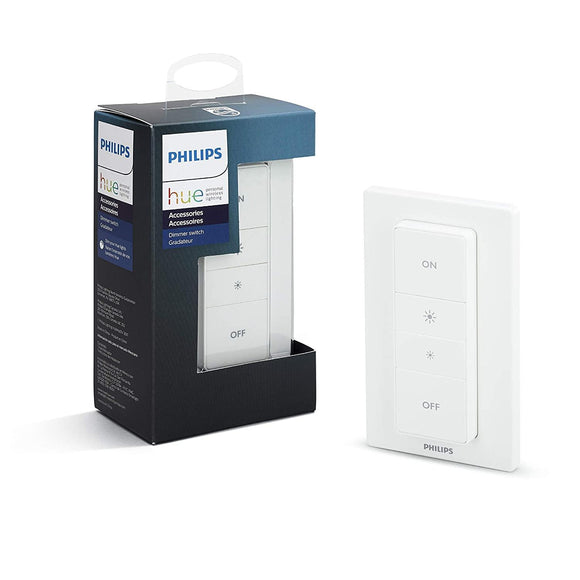 PHHUE400 Philips Hue Smart Dimmer Switch (works with Alexa and Google Assistant) - digitalhome.ph