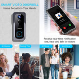 DB400 Wireless Waterproof Smart Video Doorbell (Works with Alexa & Google Assistant) - digitalhome philippines