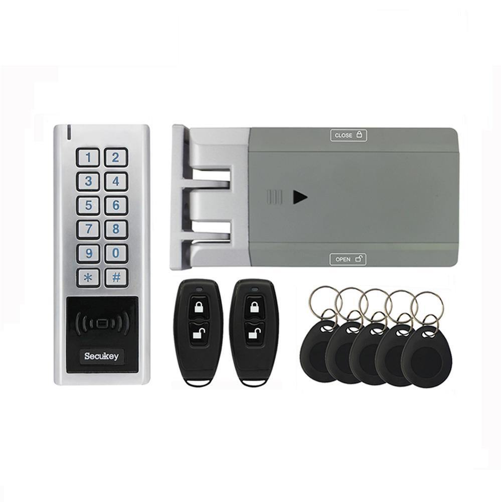 Digitalhome Design: GT100 Smart Lock For Outdoors (RFID Card, Remote Control