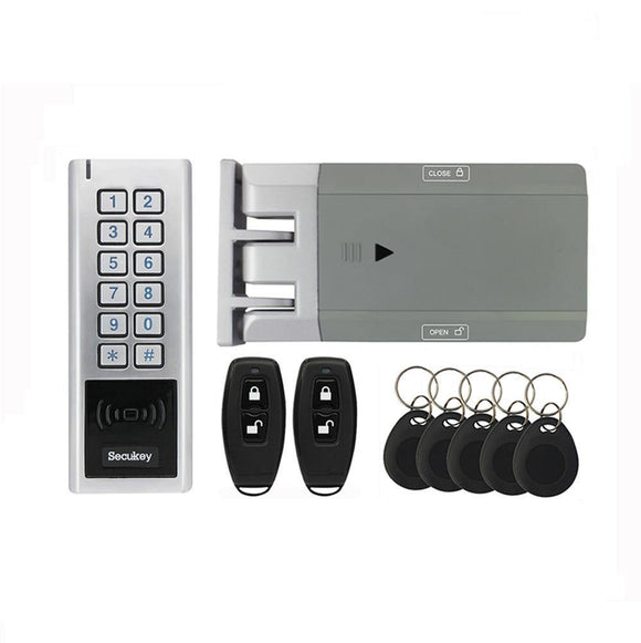 GT100 Smart Lock for outdoors (RFID card, remote control and keypad) - digitalhome.ph