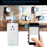 SP200 Smart Plug with 2 fast charging USB (Works with Home & Alexa) - digitalhome philippines
