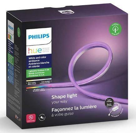Philips Hue White & Color Ambiance Waterproof Light Strip 2m with plug (Works with  Alexa, Apple Home Kit, and Google Assistant) - digitalhome philippines