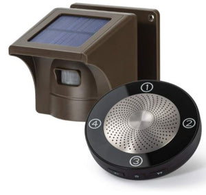 AS400- Ultra Long Range Waterproof Solar Wireless Alarm and Sensor (Up to 800m) - digitalhome.ph