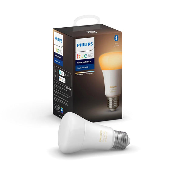 PHHUE100 Philips Hue White Ambiance Dimmable LED Smart Light Bulb (Works with Alexa, Apple Home Kit, and Google Assistant) - digitalhome philippines